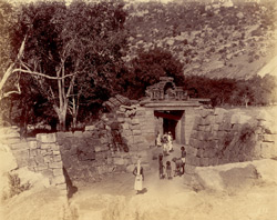 Second entrance to the fort, Chandragiri, North Arcot District